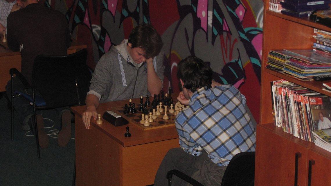 Šachový blesk na Nový rok